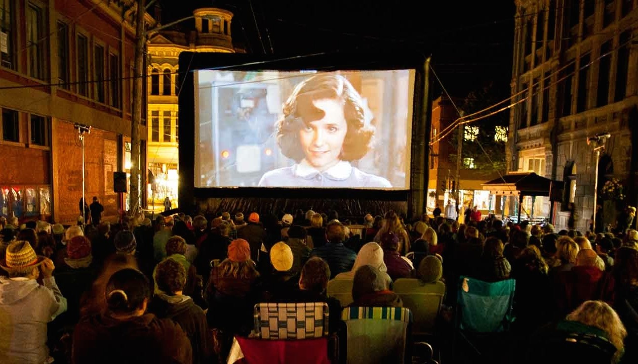 ptff outdoor movie by mark saran