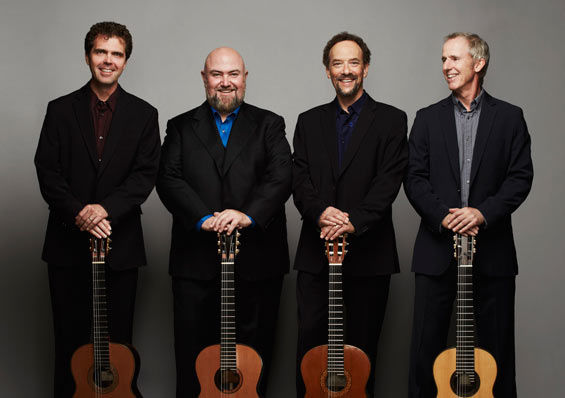 Los Angeles Guitar Quartet, photo by Jiro Schneider.